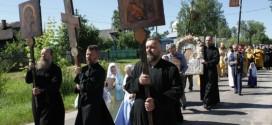 Крестный ход в селе Шувое