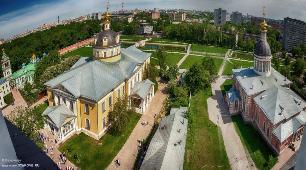 Панорама Рогожских храмов
