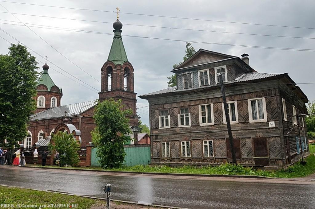 Ржев, Покровский храм, РПСЦ, Евгений Чунин