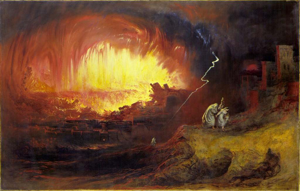 Джон Мартин: Содом и Гоморра