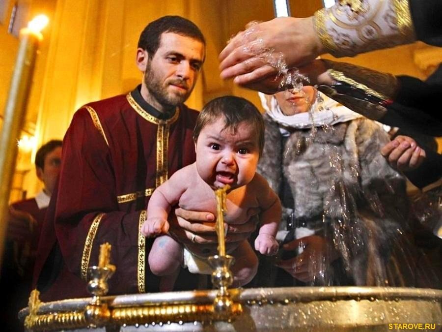 Крещение обливательное,как крестить, РПЦ МП
