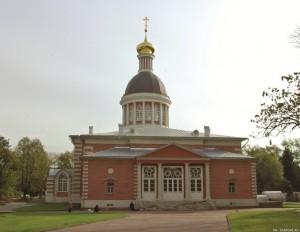Собор Рожества Христова на Рогожском кладбище в Москве. 1804 г. Собор выполнен в стиле построек В. Баженова