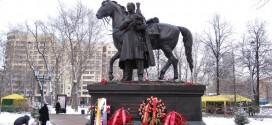 памятник атаману Платову в Москве Лефортово