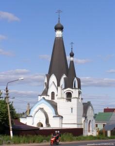 Старообрядческий Храм св.Георгия Победоносца (с. Ново-Харитоново, при фабрике Кузнецовых
