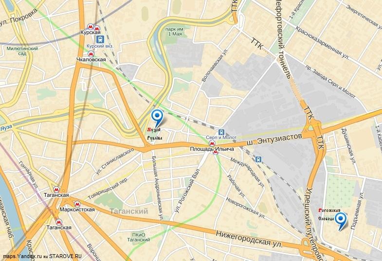 Rubliov-map