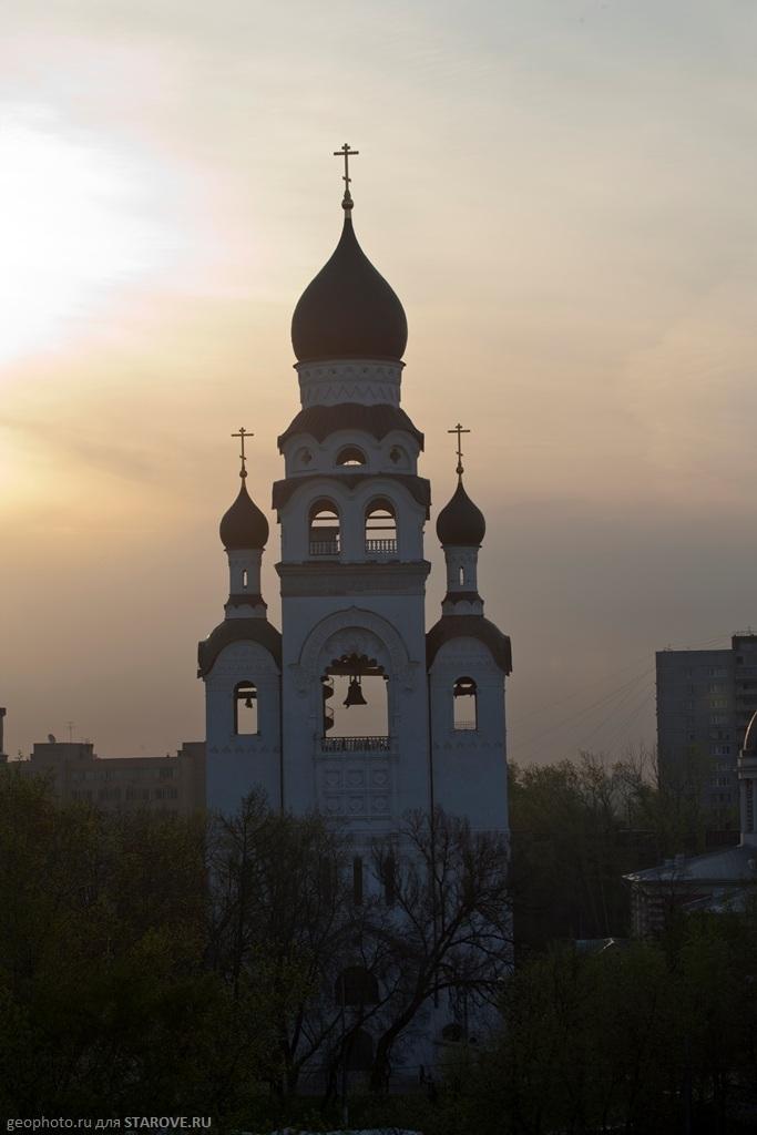 Колокольня Рогожского кладбища, арх. Ф.Ф. Горностаев 1907-10 гг.