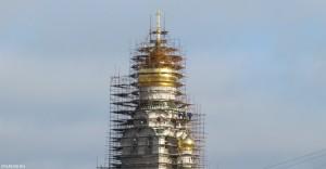 Рогожская колокольня, Рогожская слобода, установлены кресты, старообрядцы, РПСЦ, Митрополит Корнилий
