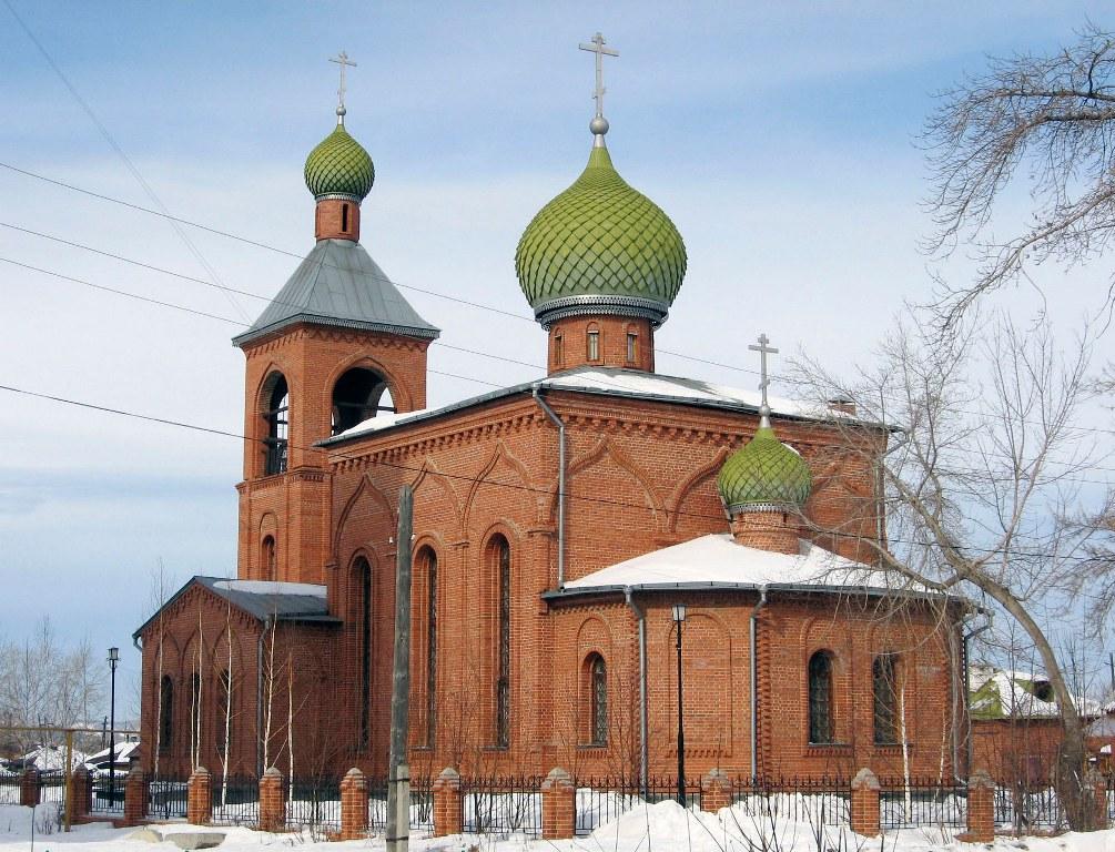 РПСЦ, Покровский старообрядческий храм города Миасс, прихожанкой которого является Любовь Михайловна.