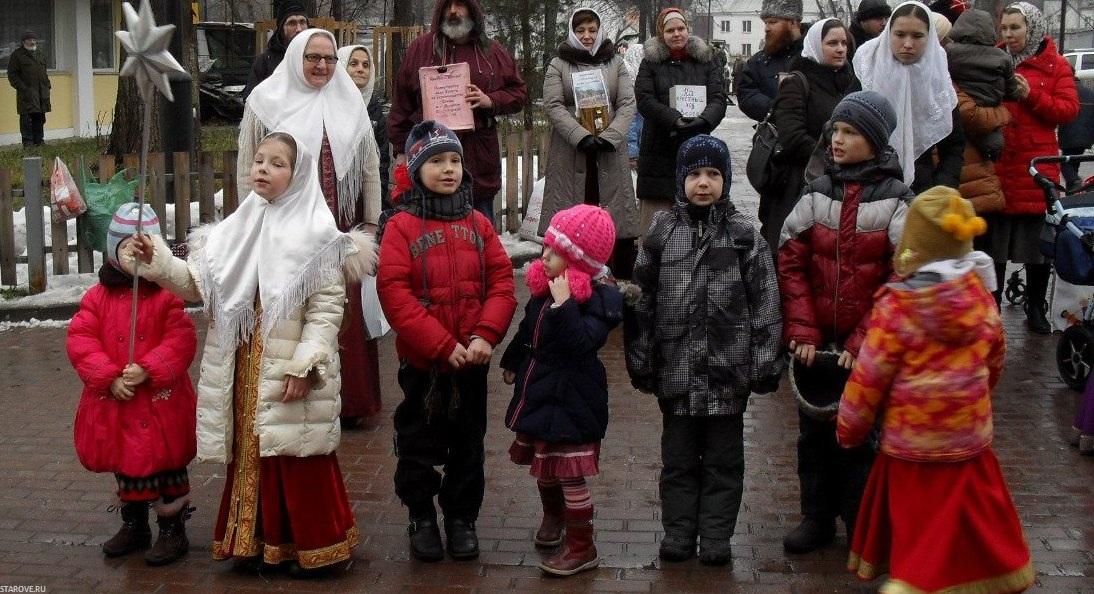 Рогожское, Воскресная школа, праздник, старообрядцы, Рождество Христово, Рогожская Слобода