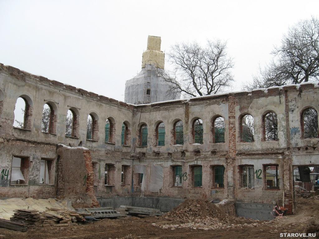 стройка, ремонт, реставрация, реконструкция, вакансии, Рогожское, Рогожская Слобода, старообрядцы, персонал, сторож, работа