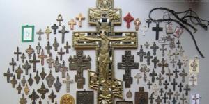 правильный крест, крестик, старообрядческий