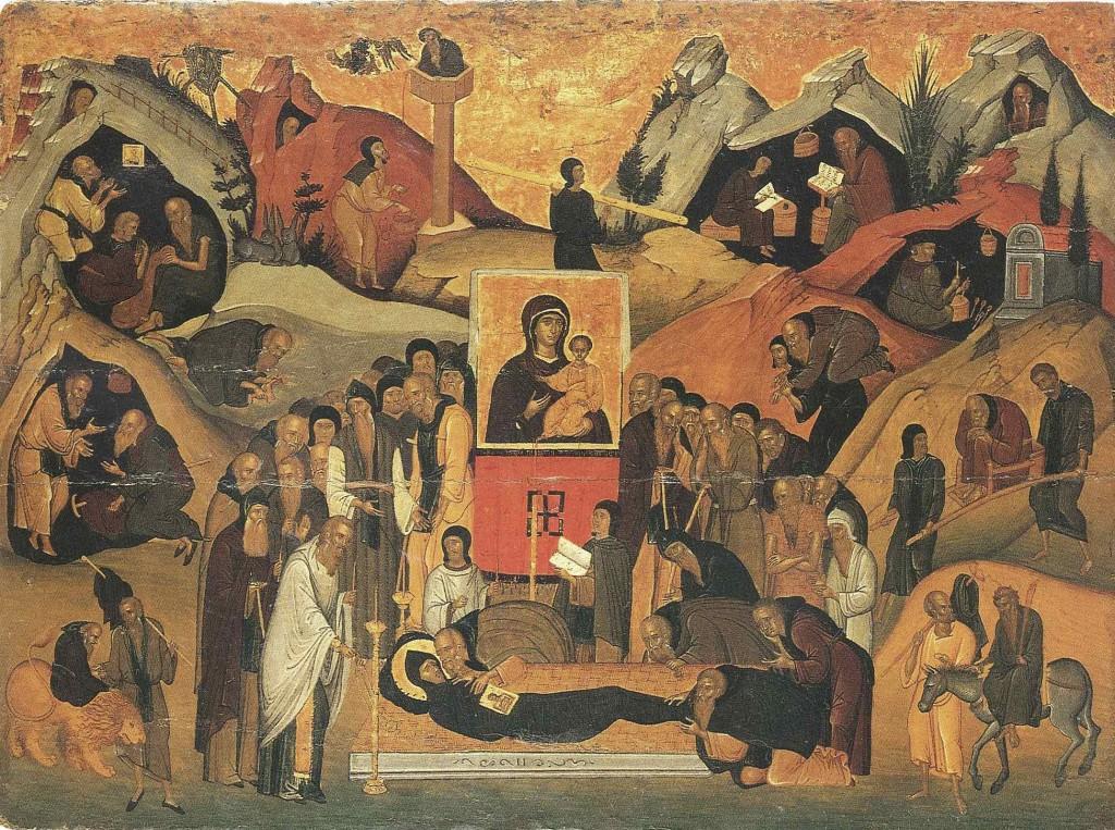 Житие и успение Ефрема Сирина, прп.; Византия; XV в.