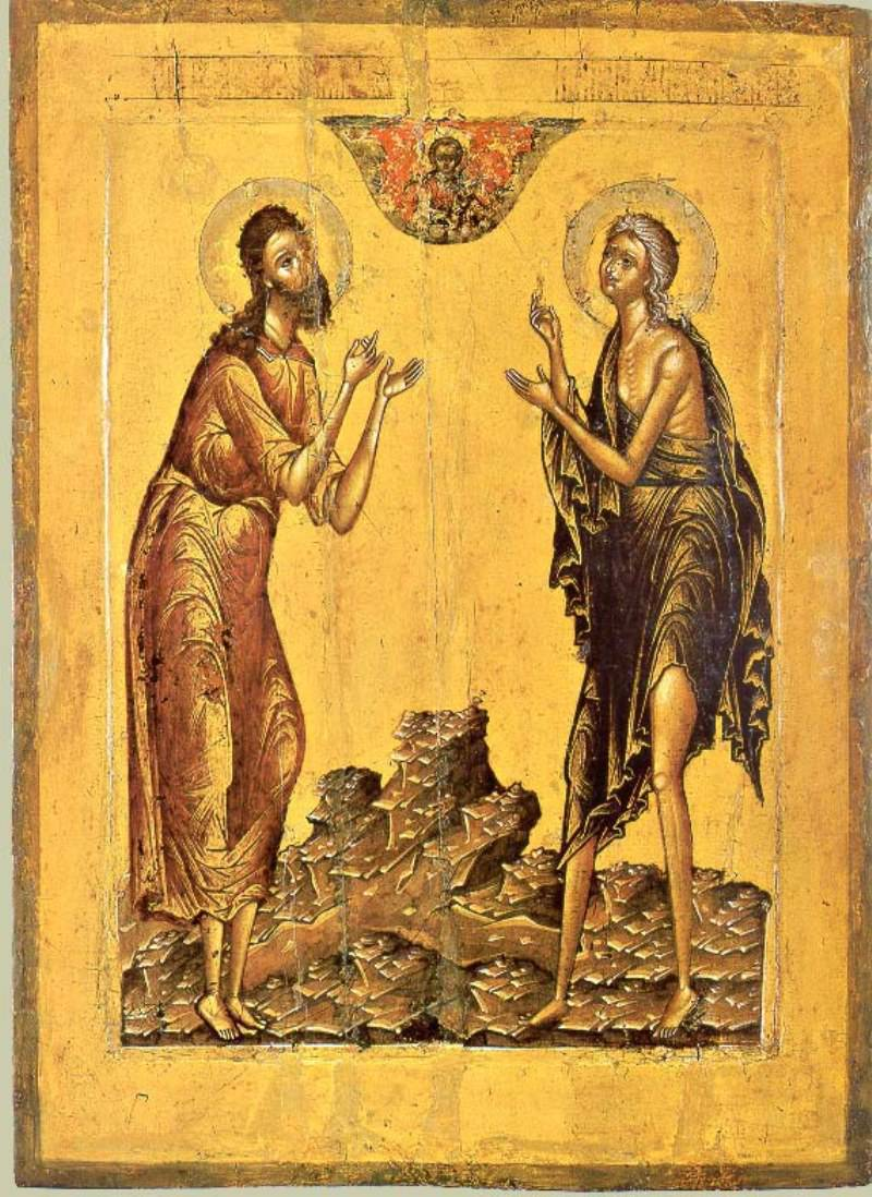 Мариино стояние, старообрядцы, канон Андрея Критского, подвиг, Мария Египетская, Андрей Критский, житие Марии Египетской