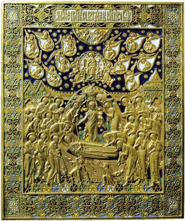 «Успение Пресвятой Богородицы». Москва, конец 19 века.