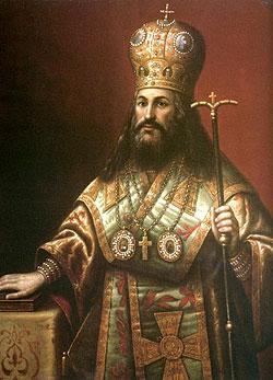 Паисий Лигарид (1610 - 1678), православный митрополит Газы, идейный сторонник униатства
