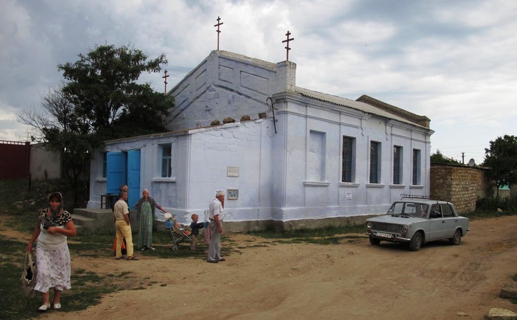 Храм РПСЦ в Маме Русской (Крым, Керчь), построен в 1913 году