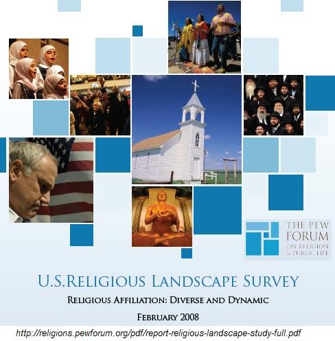 Pew Forum on Religion & Public life (2008), US Religious landscape Survey