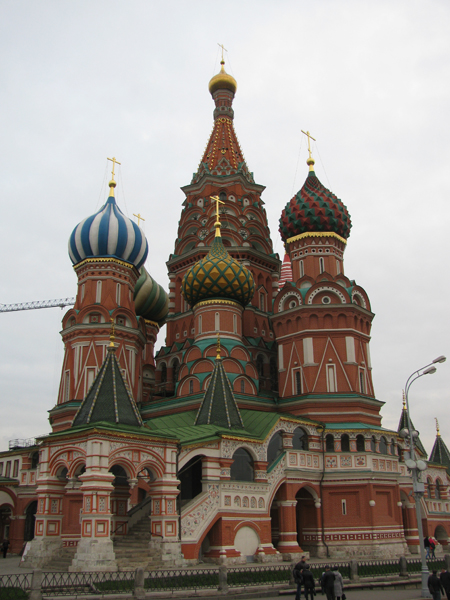 Собор Василия Блаженного, Покровский собор Кремля