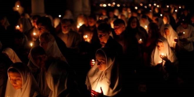 ночное старообрядческое богослужени, старообрядцы