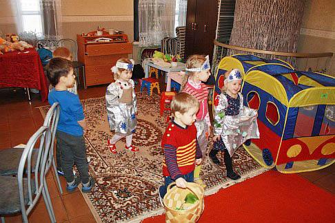 Комната для занятий с детьми