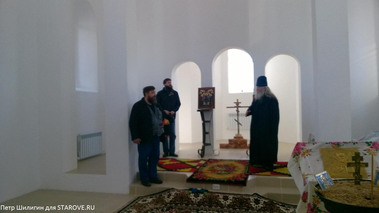 Старообрядческий храм в селе Окунево Тюменской области