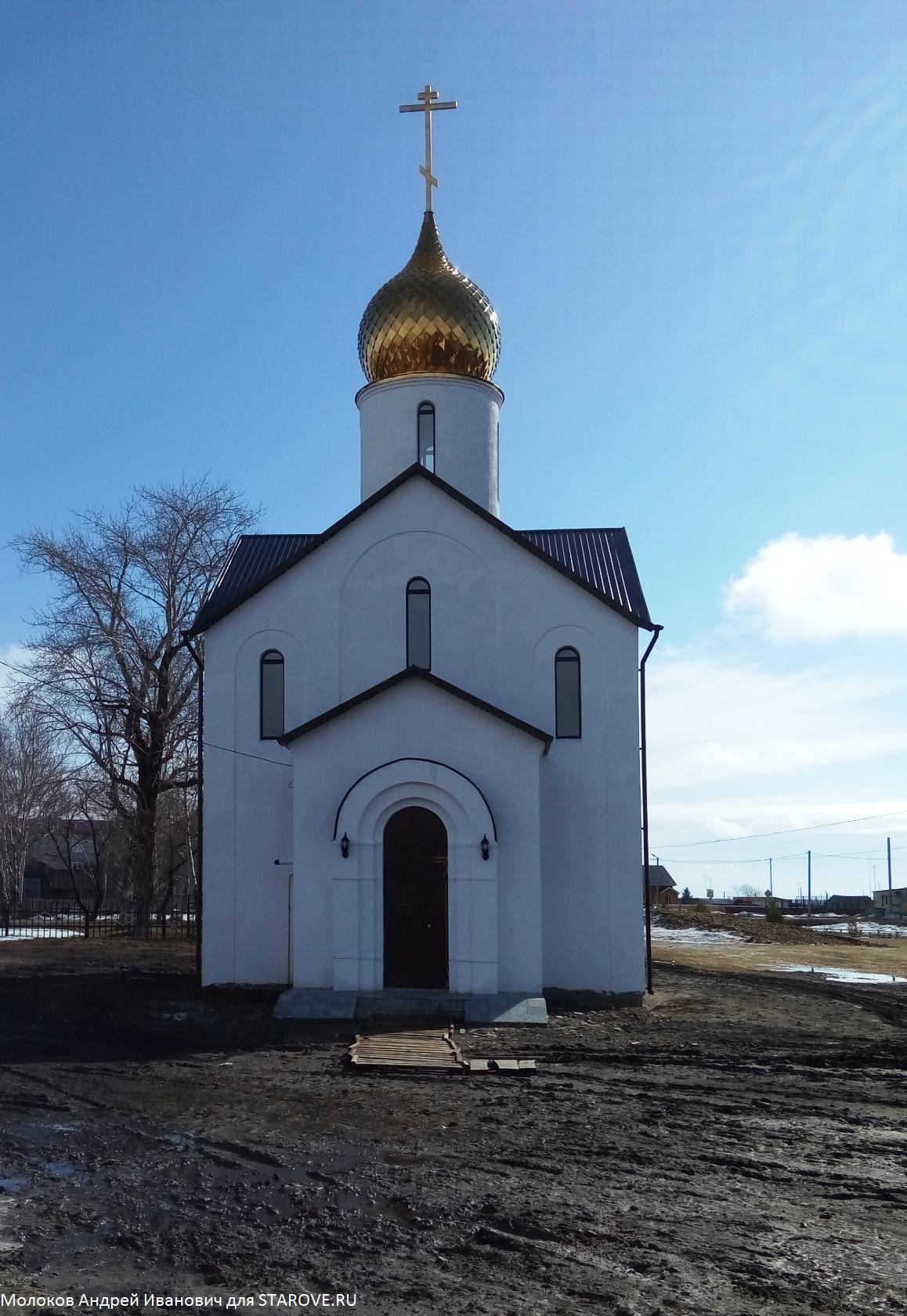 Старообрядческий храм в селе Окунево
