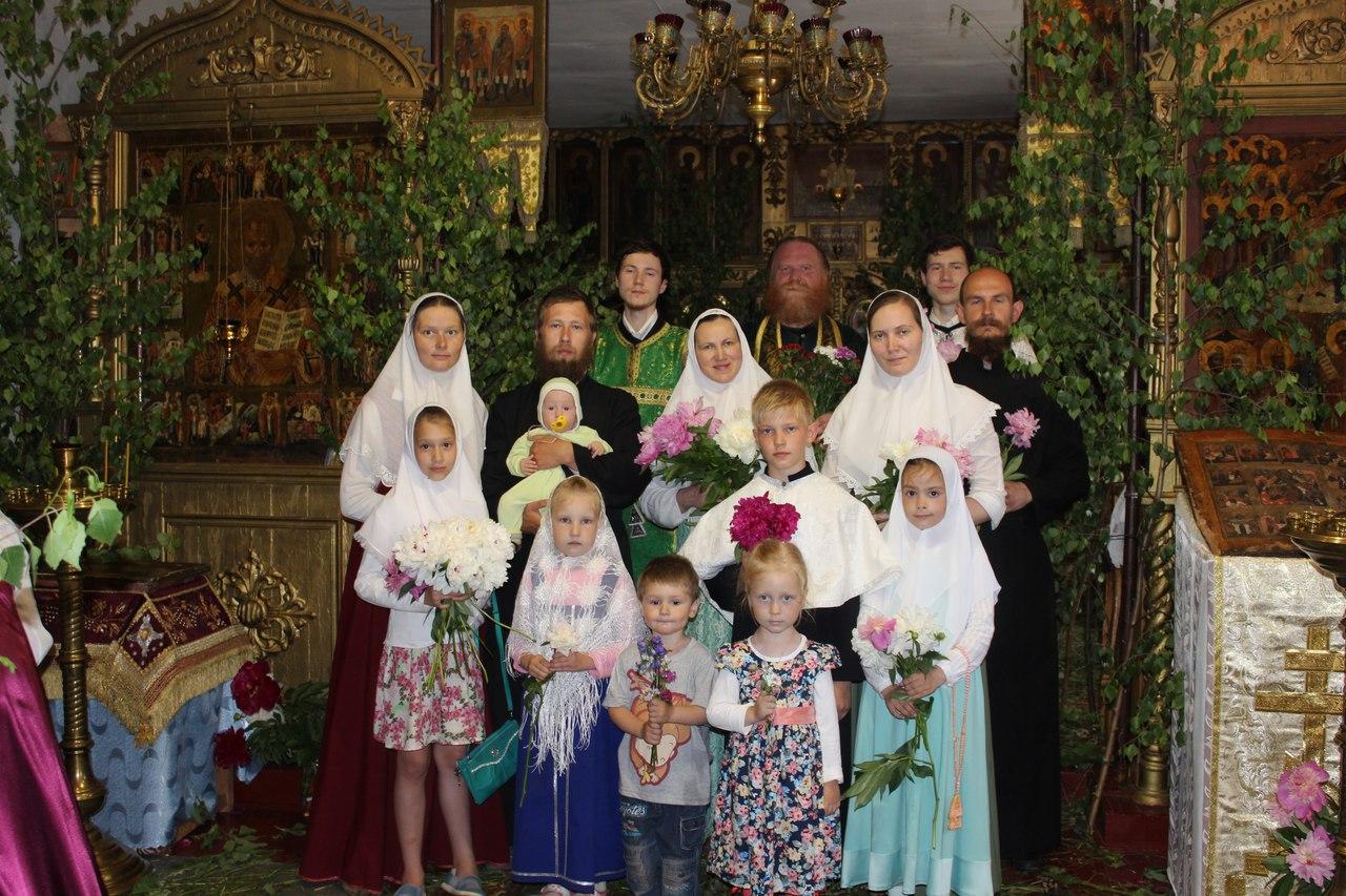Троица,Пятидесятница, служба у старообрядцев, Арзамаз