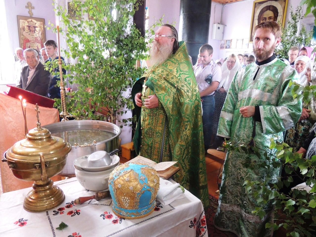Троица,Пятидесятница, служба у старообрядцев, Пристань