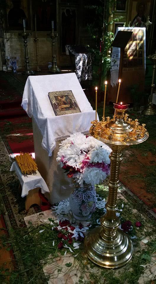 Троица,Пятидесятница, служба у старообрядцев, Устьяново