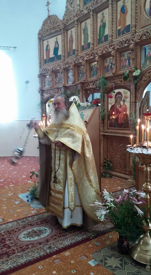 Троица,Пятидесятница, служба у старообрядцев, Посканы.Румыния.РПСЦ