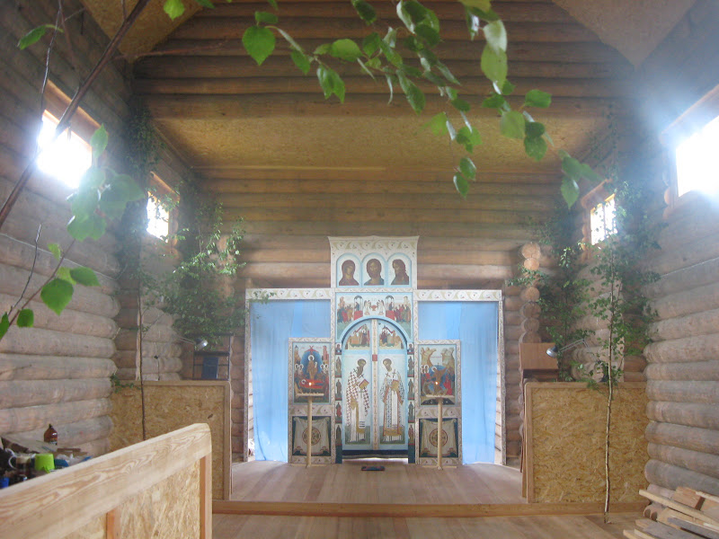 Троица,Пятидесятница, служба у старообрядцев, Малая Вишера