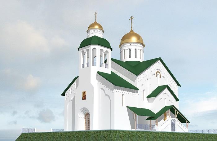тенденции строительства православных храмов, футуризм, концептуальные идеи, старообрядчество, архитектура, Современное архитектурное решение образа русского православного храма