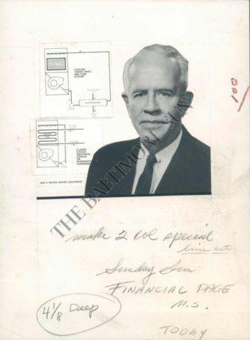 Часть статьи о Джоне Енгалычеве(он же Иван Енгалычев-младший) в «Балтимор Сан». Слева вверху – охладители, которые производила его фирма.