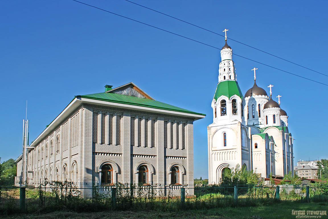 старообрядческий храм в Барнауле, староверы алтая