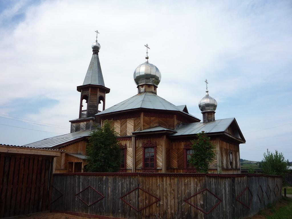Церковь Рождества Иоанна Предотечи. Шамары