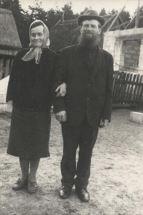 Мирон Варфоломеевич Филипов с женой