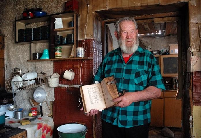 Трифон Персиянов – старообрядец, Холны Вольмера на Сувальщине, 09.04.2008, фото Анджей Силор