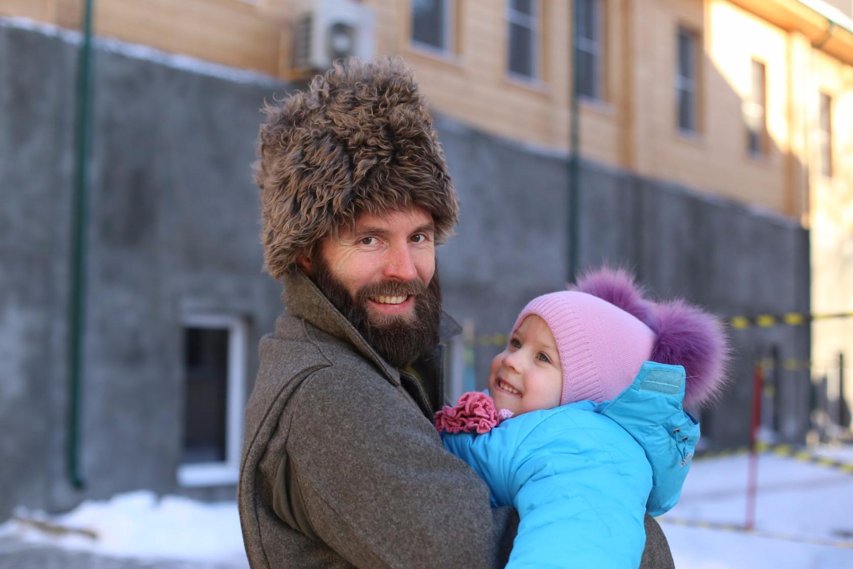 Детский рождественский праздник на Остоженке. Фотозарисовка Александр Говоров