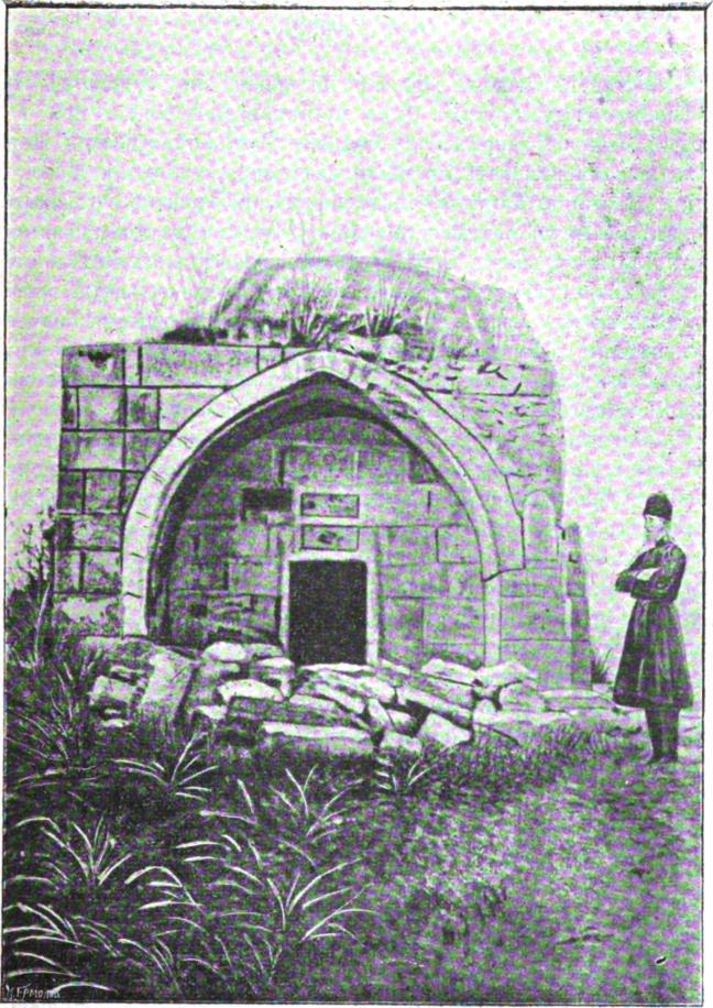 Храмина, где обретены мощи св. мучеников Гаведдая, Дады, Каздои и Гаргала.