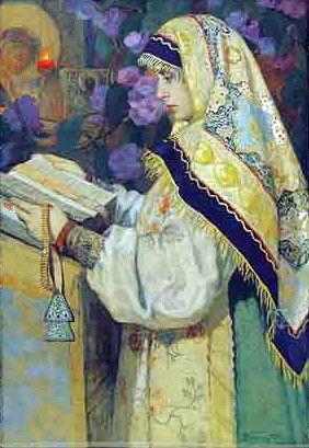 Горюшкин-Сорокопудов Иван Силыч (1873-1954) В храме