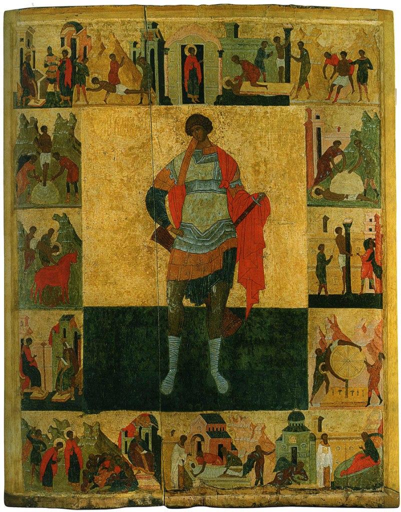 Великомученик Георгий, с житием. Ростов. Первая четверть XVI в.