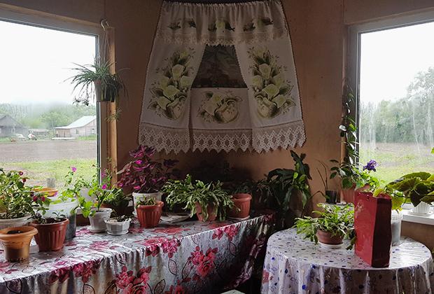 Интерьер дома в селе Дерсу Фото: Юрий Васильев