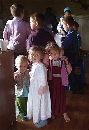 Здесь каждую семью можно считать многодетной Фото: Юрий Васильев