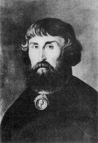 Портрет Льва Ивановича Расторгуева. Неизвестный художник. Начало XIX века.