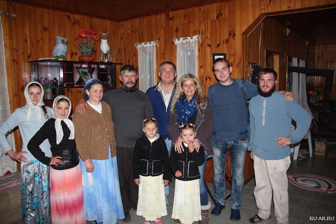 староверы в уругвае
