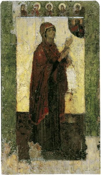 Первообраз иконы, XII век,дата появления: 1155 год, Владимиро-Суздальский музей-заповедник, Владимир Дата празднования 18 июня (1 июля)