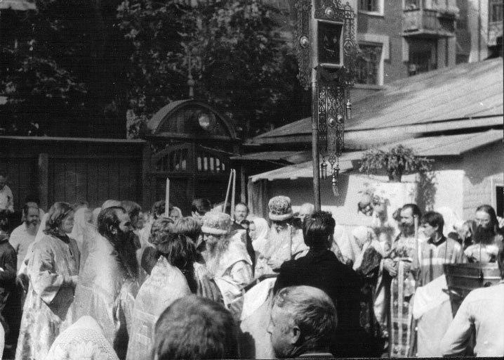 Праздничное Богослужение в храме г.Киева