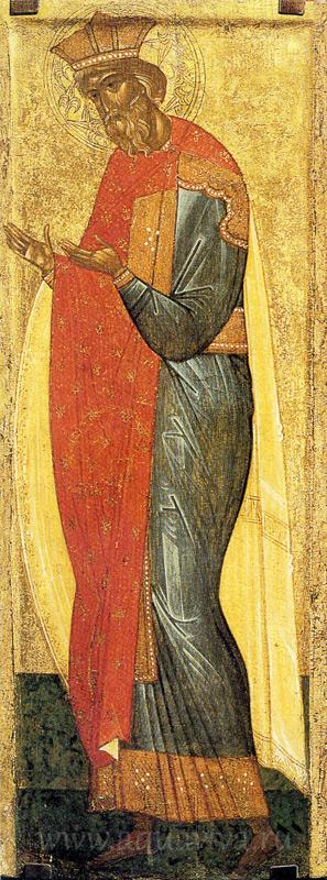 Икона из деисусного чина. 1-я пол. XV в. Государственная Третьяковская галерея