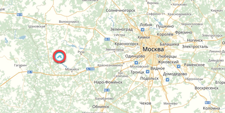 Borodino-map