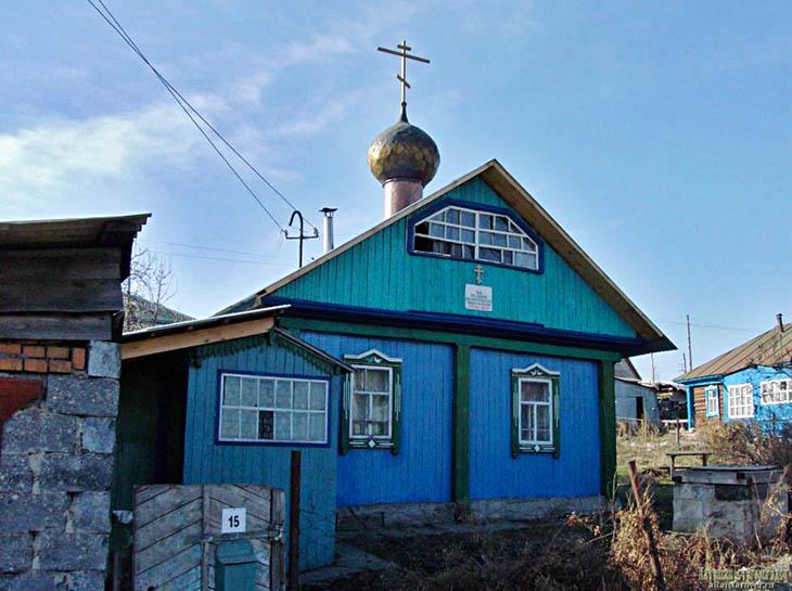 Храм во имя Смоленской иконы Пресвятой Богородицы Одигитрии в Горно-Алтайске